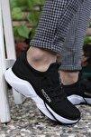 Siyah Beyaz Unisex Sneaker