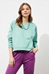 Mint Basic Örme Sweatshirt TWOAW20SW0055