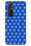 Nazarium (2) Desenli Silikon Kapak Xiaomi Mi Note 10 Lite  Uyumlu Kılıf