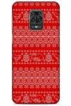 Kazak (9) Desenli Silikon Kapak Xiaomi Redmi Note 9 Pro Kılıf