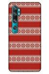 Kazak (7) Desenli Silikon Kapak Xiaomi Mi Note 10 Uyumlu Kılıf