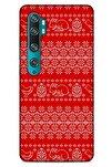 Kazak (9) Desenli Silikon Kapak Xiaomi Mi Note 10 Uyumlu Kılıf