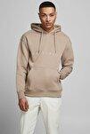 Erkek Copenhagen Sweatshirt Loopback Relaxed Fıt Hoodıe - 12176864-1