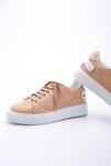 Kadın Camel Sneaker Spor Ayakkabı Volares