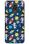 Spacex (7) Tema Telefon Kılıfı Xiaomi Redmi Note 9s Kılıf