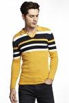 Erkek Sarı Triko Kazak