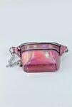 Iki Gözlü Hologram Kadın Bel Çanta