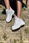 Kadın Beyaz Cilt Sneaker