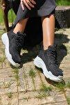 Siyah Kadın Spor Ayakkabı Y5623