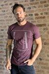 Bordo Erkek Basic T-Shirt TMNSS20TS0095