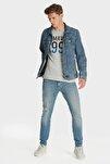 Erkek James Vintage Mavi Premium Comfort Jean 0042426212