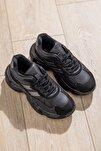 Kadın Spor Ayakkabı Siyah Tb246