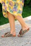 Kadın Leopar Sandalet