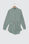 Mint Toka Detaylı Gömlek TWOAW20GO0099