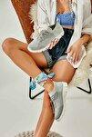Gri Kadın Sneaker K01816027182
