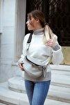 Kadın Beyaz Celosıa Çapraz Çanta