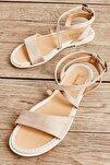 Bej Kadın Sandalet L0652071165