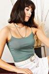 Kadın Mint Yeşili İp Askılı Kaşkorse Büstiyer BLZ-19000969