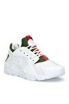Beyaz Haki Unisex Sneaker