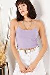 Kadın Lila İp Askılı Kaşkorse Büstiyer BLZ-19000969