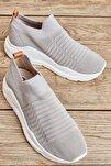 Gri Kadın Sneaker K01673050582
