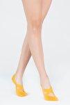 Kadın Hardal Görünmez Çorap Kat01u00101