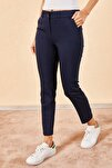 Kadın Kalem Lacivert Pantolon