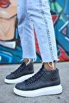 Ch258 Bt Kadın Gri Sneaker