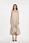 Kadın Amelie Bej Rengi Elbise 20y01