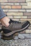Kahverengi Erkek Trekking Ayakkabı 0012x5