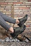 Haki Siyah Erkek Trekking Ayakkabı 0012189