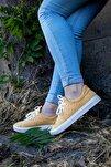 Shoes Hakiki Deri Yanları Nokta Detaylı Bağcıklı Kadın Spor Ayakkabı 20wq4700