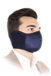 Yıkanabilir Kış Maskesi Lacivert Renk Erkek Modeli