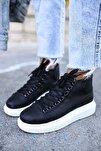 Ch258 Bt Kadın Siyah  Sneaker