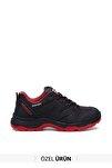 Siyah Kırmızı Kadın Sneaker 3w92g5222t