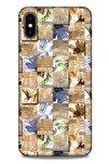 Baskılı Özel Seri Taşlı 47 Crystal Flex Iphone Xs Max Uyumlu Kılıf