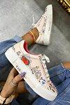Kadın Karışık Renkli Spor Ayakkabı