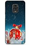 Xiaomi Redmi Note 9 Pro Kılıf Snowix (9) Kılıf Kırmızı