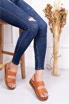 Hakiki Deri Taba Kadın Deri Sandalet Dp16-0303
