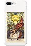 Iphone 7 Plus Beyaz Lansman The Sun Baskılı Telefon Kılıfı