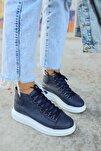 Kadın Lacivert  Sneaker Ch258 Bt