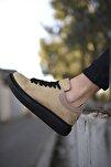 Süet Vizon Siyah Erkek Sneaker 0012360