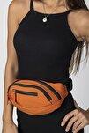Kadın Turuncu Belty Bel Çantası