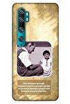 Mi Note 10 Pro Uyumlu Kılıf Atatürk (2) Kabı Gold