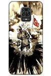Xiaomi Redmi Note 9s Kılıf Atatürk (46) Core Armor Kılıf Karışık