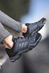 Lacivert Füme Erkek Trekking Ayakkabı 0012189