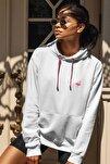 Kadın Onlyflamingo Sweatshirt Beyaz