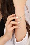 Kadın Tinkerbell Su Perisi 925 Ayar Gümüş Bileklik