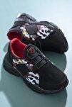 Çocuk Spor Ayakkabı Siyah Tbz20