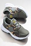 Çocuk Spor Ayakkabı Haki Tbz20